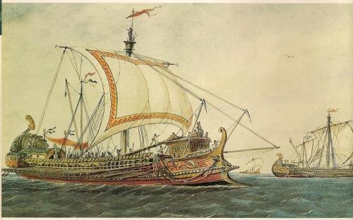 nave griega